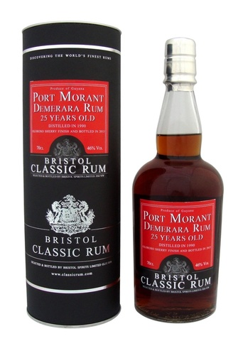 Bristol Classic Rum Guyana Port Morant 25 years old в подарочной упаковке