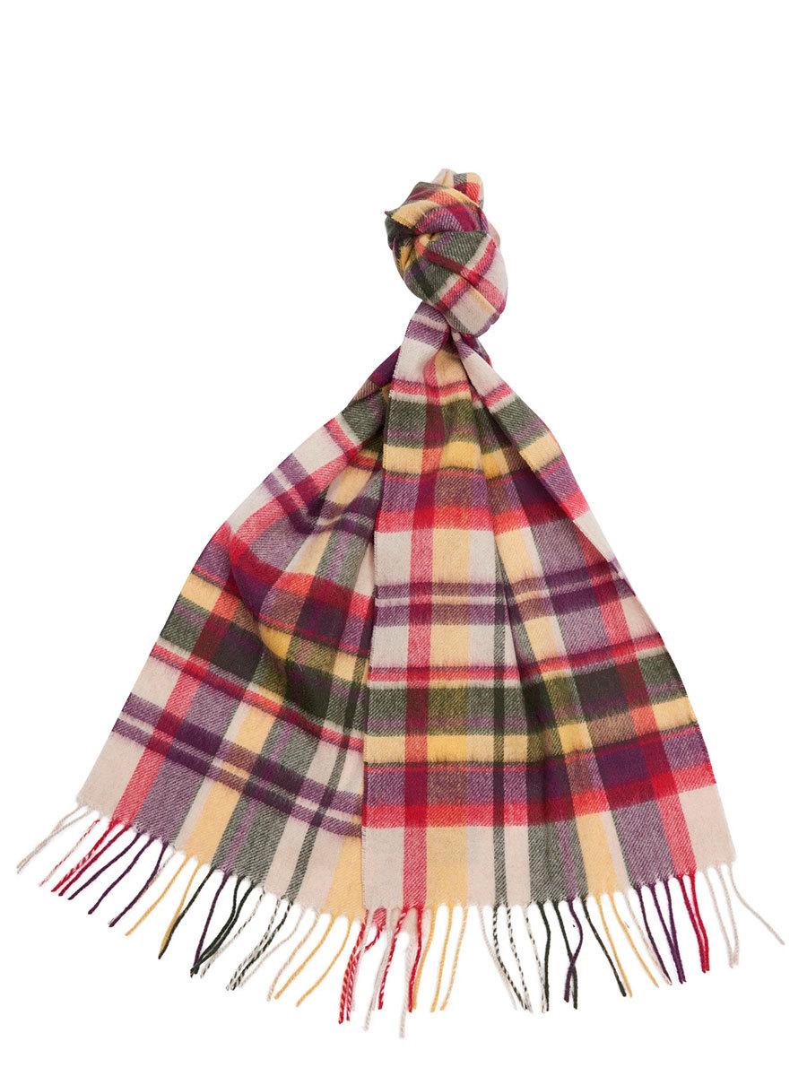Barbour шарф Vintage Winter Plaid LSC0109/YE31 - Фото 1