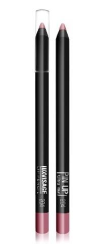 LuxVisage  Карандаш для губ PIN-UP ultra matt тон 204 (lucky)
