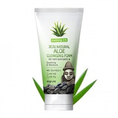 ВЛК Jeju Пенка для лица Jeju Natural Aloe Cleansing Foam 120гр