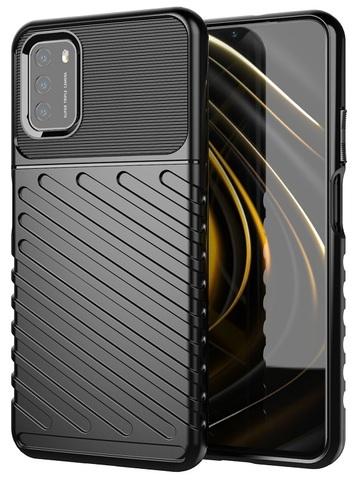 Ударопрочный чехол на телефон Xiaomi Poco M3, серия Onyx от Caseport