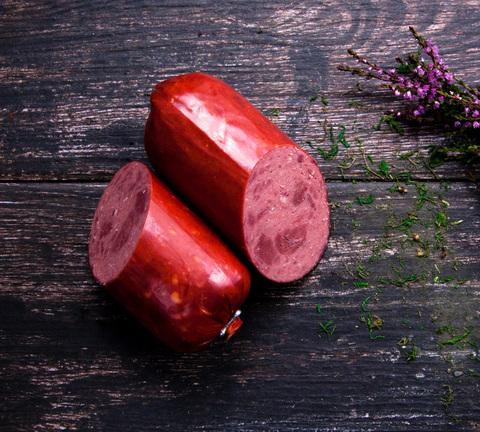 Колбаса оленья Ветчинно-рубленная в/к