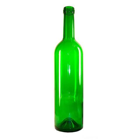 Бутылка 0,75 литра без пробки