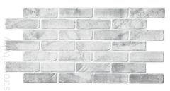 Декоративная панель ПВХ Кирпич старый серый