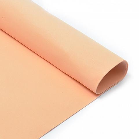 Фоамиран 1мм, 50*50 см, персиковый
