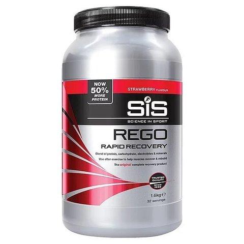 Напиток посттренировочный углеводно-белковый Science in Sport REGO Rapid Recovery 1.6 кг, Клубника