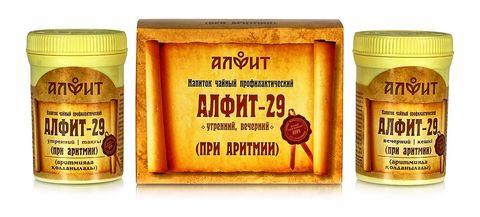 Чай Алфит № 29 при аритмии 60бр.(Гален)