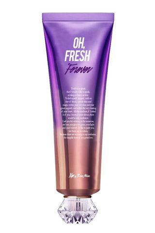 Крем для тела ЦВЕТОЧНЫЙ АРОМАТ ИРИСА Fragrance Cream - Oh, Fresh Forever, 140 мл  Kiss by Rosemine