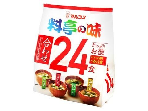 Мисо-суп Марукомэ 24 порции (4 вкуса х 6)  432г