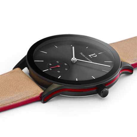 Мужские часы Pierre Lannier CUIR SABLE 222F384