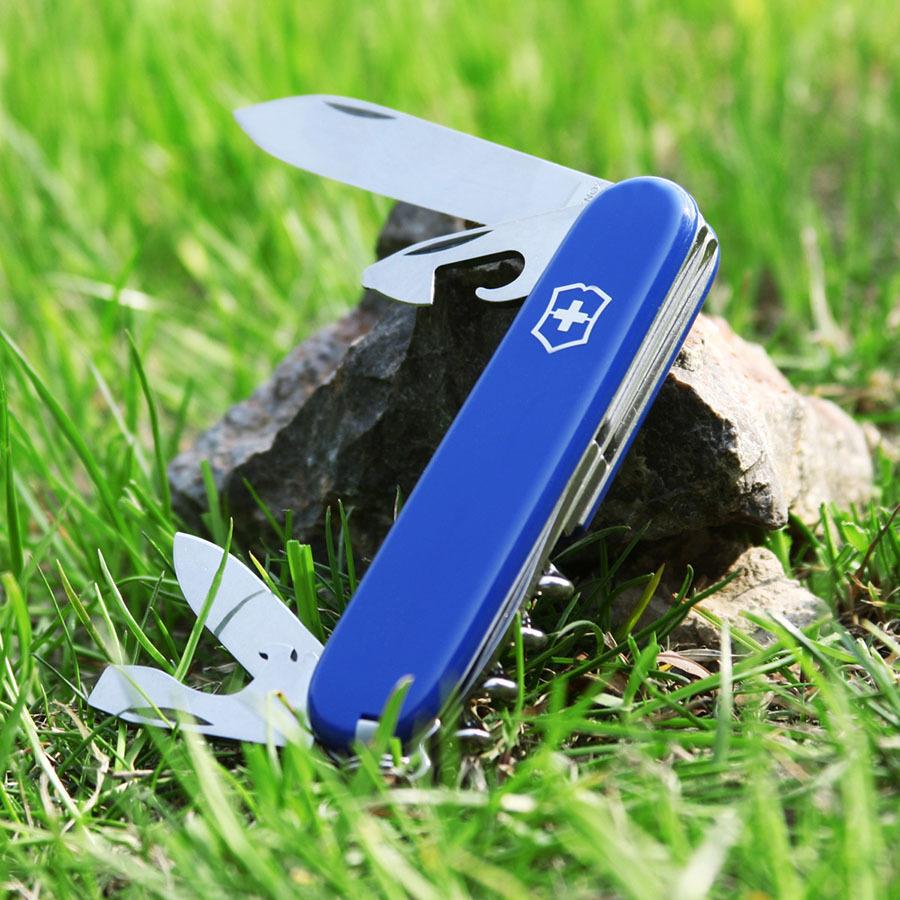 Складной нож Victorinox Spartan Blue (1.3603.2) 91 мм., 12 функций, синий - Wenger-Victorinox.Ru