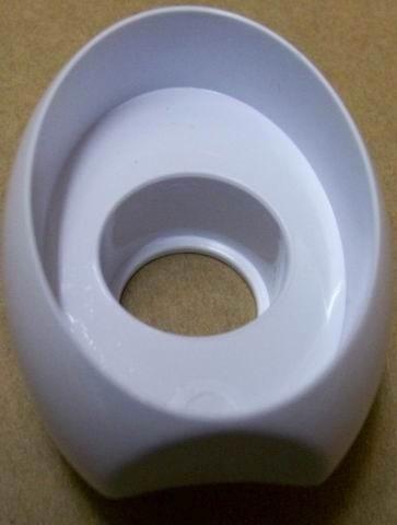 Декоративная нижняя часть ручки Беко (белая) 250151536