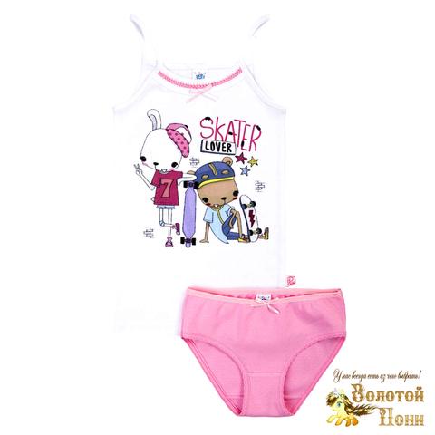 Комплект хлопок девочке (2-10) 210317-У78097