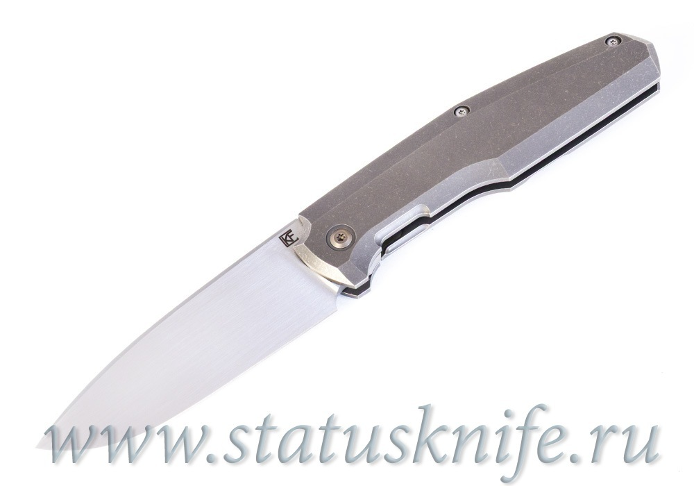 Нож CKF/Philippe Jourget FIF20 Ti 2021 (M390, plain Ti handle) - фотография