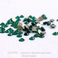 2058 Стразы Сваровски холодной фиксации Emerald ss 5 (1,8-1,9 мм), 20 штук