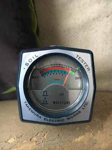 Тестер pH и влажности почвы Takemura - DM-15