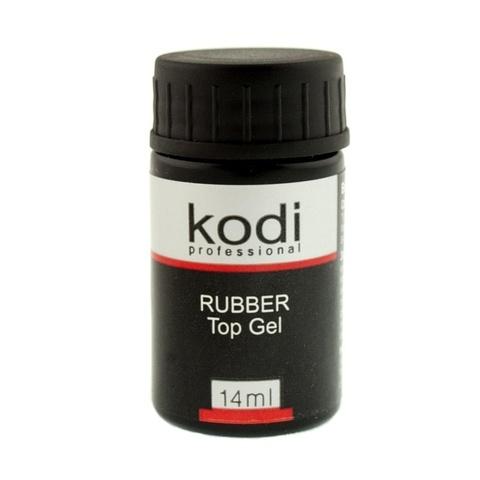 Rubber Top (Каучуковое верхнее покрытие для гель лака) 14 мл. Kodi Professional