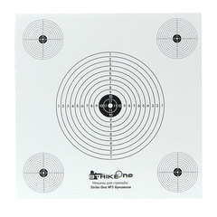 Мишень для стрельбы из пневматической винтовки №5 - 100 шт.