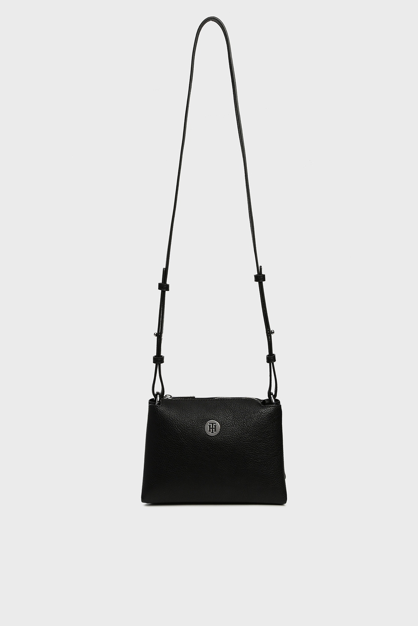 Женская черная сумка через плечо TH CORE Tommy Hilfiger