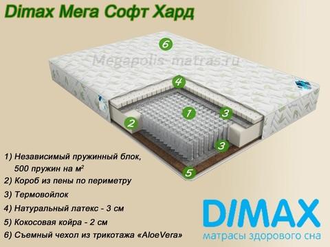 Матрас Димакс Мега Софт Хард от Мегаполис-матрас