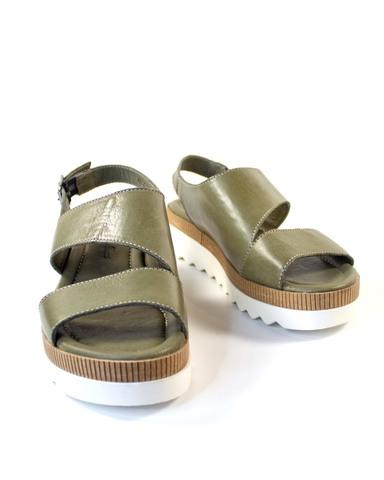 зеленые сандалии Mario Muzi