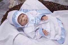 Комплект для крещения Ангел (голубая)