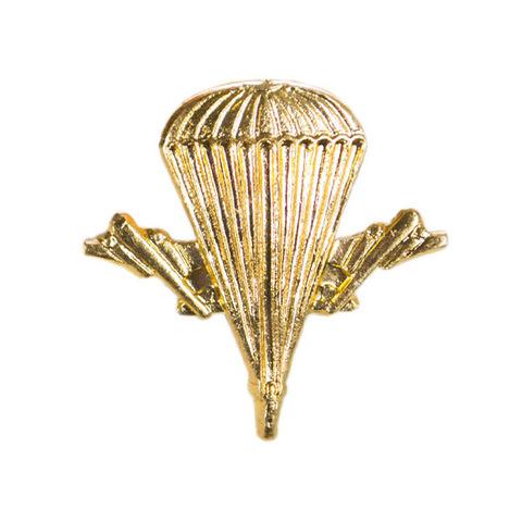 Эмблема петличная ВДВ, пластик. золотой