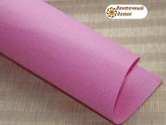 Фетр жесткий толщина 1 мм розовый