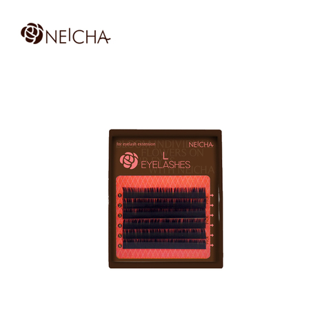 Ресницы NEICHA нейша MIX 6 линий L-изгиб Curve тёмно-коричневые