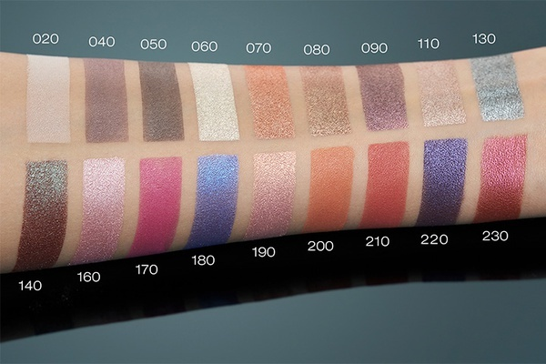 Catrice Art Couleurs Eyeshadow тени