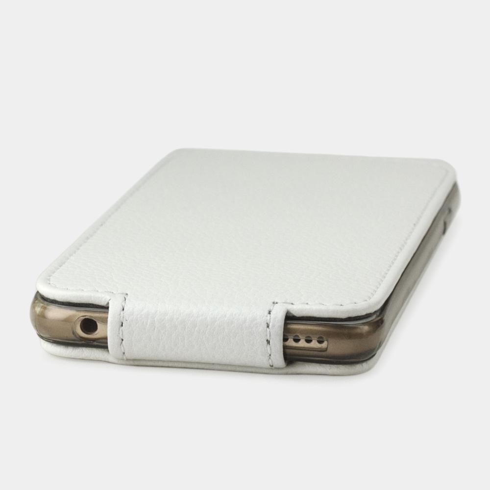 Чехол для iPhone 6/6S из натуральной кожи теленка, белого цвета
