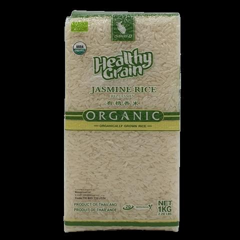 Органический белый жасминовый рис SAWAT-D, 1 кг