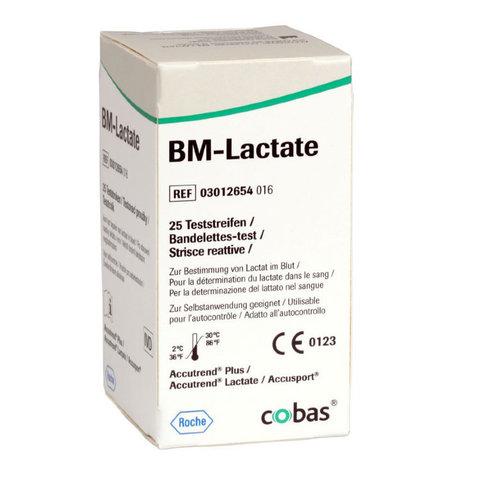 03012654016 Тест-полоски аккутренд БМ-Лактат в капиллярной крови (BM-Lactate) №25 Roche Diagnostics GmbH, Германия