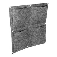 Вертикальная грядка, 4 кармана, 50х50 см