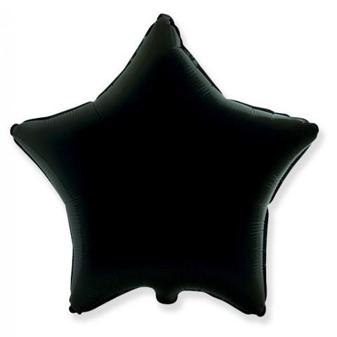 Звезда из фольги черная (46 см)