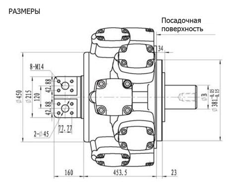 Гидромотор IPM10-8500