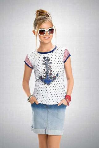 GTR476/1 футболка для девочек
