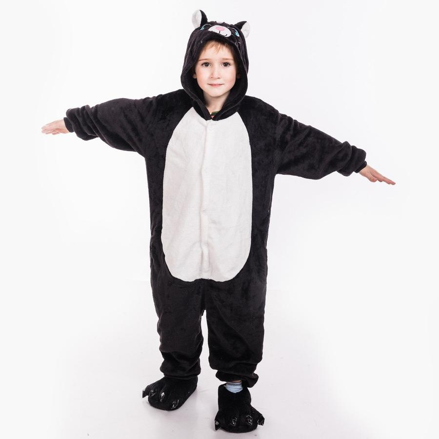 Пижамы для детей Черный кот детский 27566.970.jpg