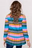 Блузка для беременных 02194 полоска