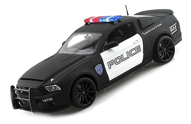 Коллекционная модель Ford Shelby Mustang GT500 Super Snake Police Car 2012