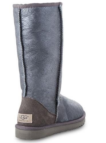 UGG Classic Tall. Цвет: Metallic Grey. uggaustralia-msk.ru