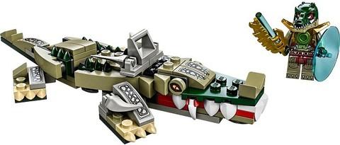 LEGO Chima: Легендарные звери: Крокодил 70126 — Crocodile Legend Beast — Лего Чима