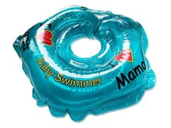 Baby Swimmer Круг на шею 3-12 кг (синий) (BS21-4)