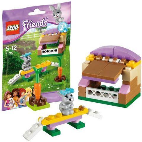 LEGO Friends: Домик кролика 41022 — Bunny's Hutch — Лего Френдз Друзья Подружки