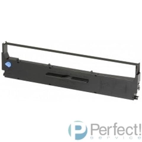 EPSON C13S015637BA Black ribbon cartridge for LX-350//300+II (bus)