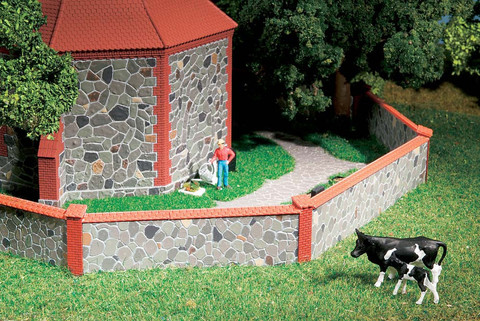 Каменный Забор, (H0/TT)