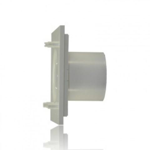 Накладной вентилятор Soler & Palau SILENT 100 CHZ DESIGN MARBLE BLACK (датчик влажности)