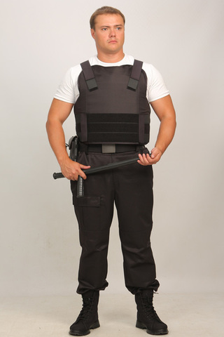 Бронежилет Комфорт 1-1 УНИ (тканевая бронепанель), Бр1 класс защиты.