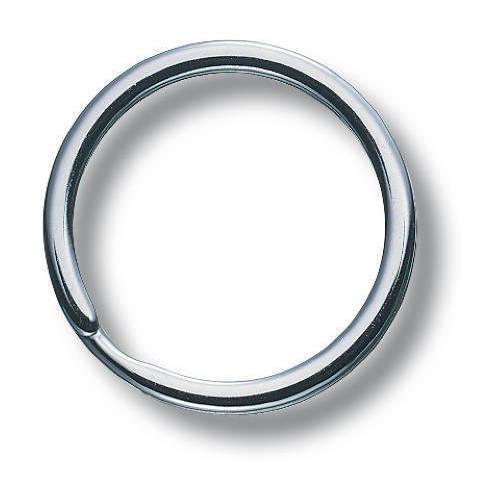 Кольцо для ключей никелированное Victorinox (4.1840)