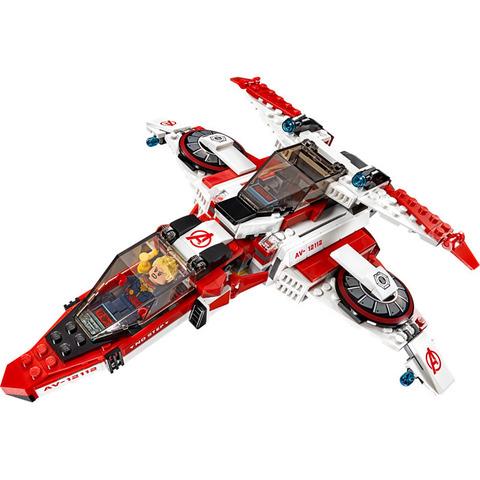 LEGO Super Heroes: Реактивный самолёт Мстителей: Космическая миссия 76049 — Avenjet Space Mission — Лего Супергерои Марвел